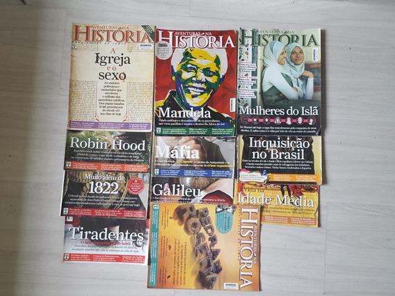 Revistas Aventuras Na História - 11 Exemplares De 2010