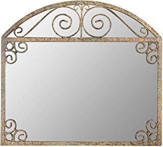 Aspire 5179 Wall Mirror, Brown