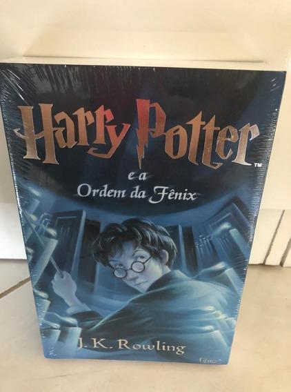 Livro Harry Potter E A Ordem Da Fenix (novo) Capa Original