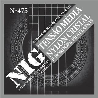 Encordoamento Nig Cordas Violão Nylon 028 043 N475 Bolinha