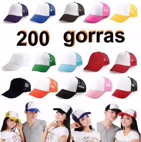 Gorras Trucker Paquete 200 Piezas Envio Gratis
