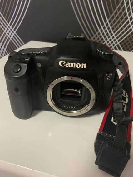Câmera Canon 7d Em Ótimo Estado