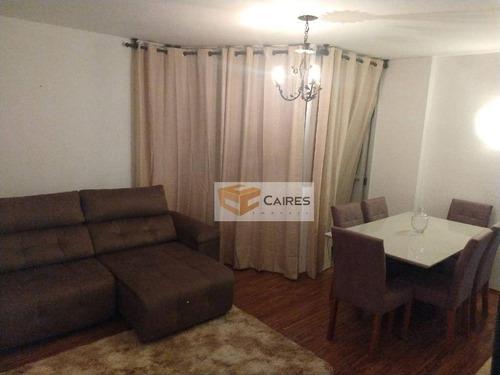 Apartamento Com 1 Dormitório À Venda, 54 M² Por R$ 180.000,00 - Bosque - Campinas/sp - Ap7484