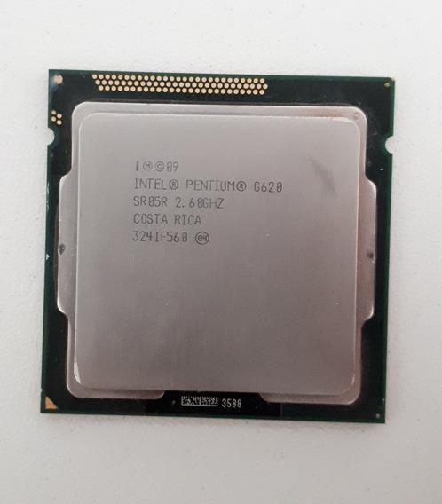 Processador Intel Pentium G620 2.6ghz. Socket 1155