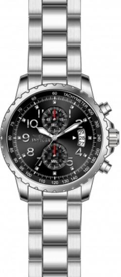 Invicta 13783 Specialty Chronograph Black Dial Aço Inoxidáve