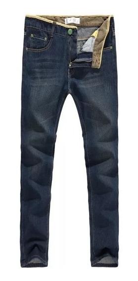 Calça Jeans Masculina Não Rasgada Pronta Entrega