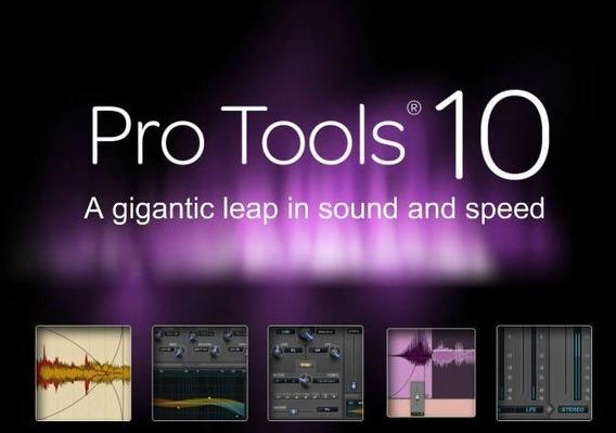 Protools 10 Para Windows 7 De 64bits + Virtual Instruments