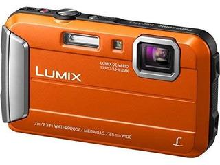 Panasonic Dmc-ts25, Cámara Digital Impermeable, Con Lcd