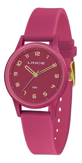 Relogio Lince Block Feminino Lrpj092l R2rx Pink