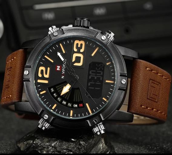 Relógio Naviforce Moda Masculina Modelo 9095 Original