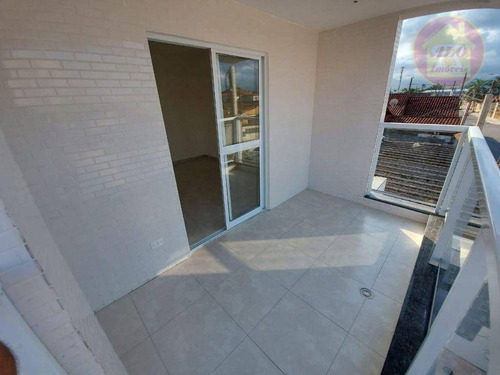 Casa Com 2 Dormitórios À Venda, 73 M² Por R$ 270.000,00 - Aviação - Praia Grande/sp - Ca1463