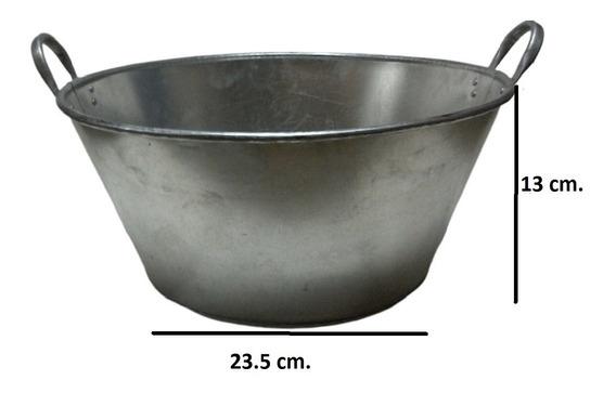 Paila Cazo Para Chicharrones Carnitas Galvanizada 30 Cm.