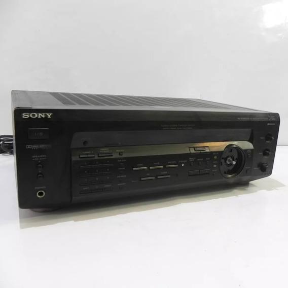 Receiver Sony Str-de335 5.1 Am/fm 220v Com Defeito P/ Reparo