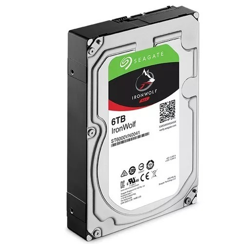 Hd 6tb Seagate Nas Backup Seagate Iron Wolf St6000vn0041