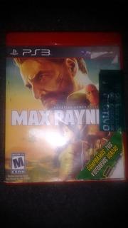 Drecuerdo Videojuegos Ps3 Max Payne 3 Video Games