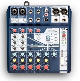 Soundcraft Notepad 8fx Consola Sonido 8 Canales Usb