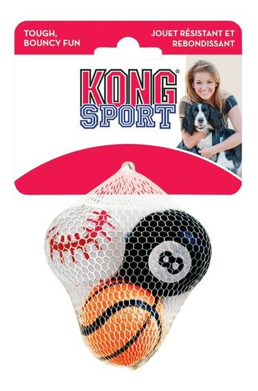 Brinquedo Bola Cães Kong Sport Balls Small Pequeno