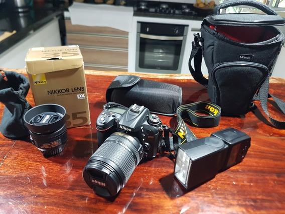 Câmera Nikon D7200 Novíssima!!!