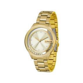 Relógio Lince Feminino Dourado Lrg4562l C1kx