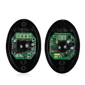 Sensor Fotocélula Alarme Luzes Barreira P/ Portão 15 Metros