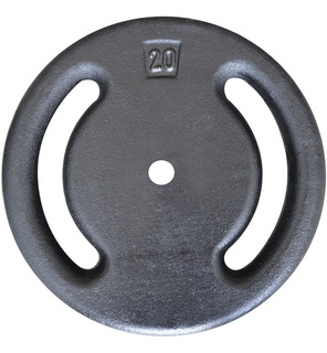 Anilha De 20kg Vazada Alta Qualidade - Halter / Barras