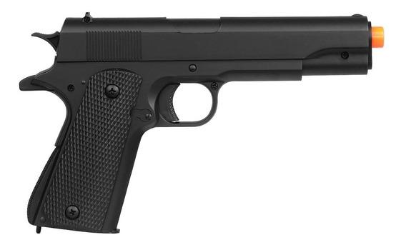 Pistola Airsoft Spring M292 Colt 1911 Mais Barata Do Brasil