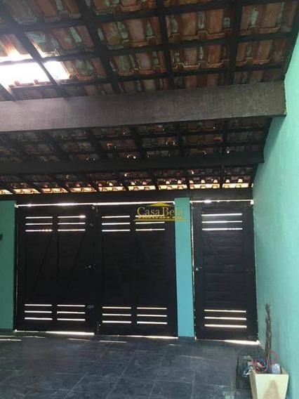 Casa Com 3 Dormitórios Para Alugar, 70 M² Por R$ 1.450/dia - Suarão - Itanhaém/sp - Ca2525