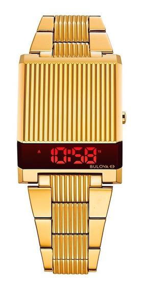 Nuevo Reloj Bulova Computron Led Original - 97c110