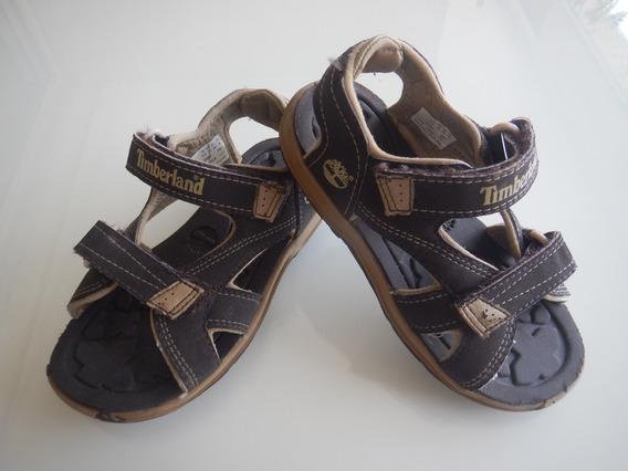 Sandália Papete Timberland Infantil Menino 27 Marrom Nike