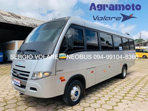 Micro Ônibus Volare V8l Executivo Cor Prata Ano 2017/2017