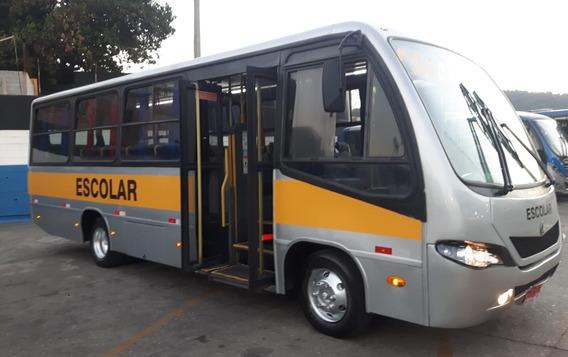 Micro Ônibus Ibrava Escolar Prata - 51 Lugares - Só 79.990