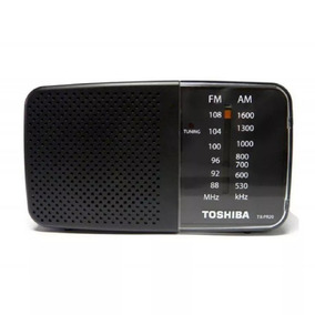 Radio Pequeno Portátil Toshiba Am Fm Novo Tx-pr20s Original