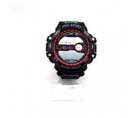 Relógio G-shock Preto E Vermelho