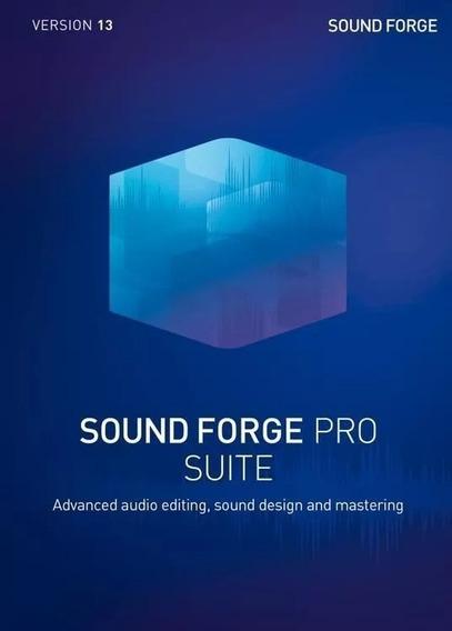 Sound Forge Pro Suite 13.0.0.131 Versão Completa 2020