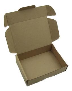 Caja Empaque Envíos Carton Microcorrugado 19x13x5cm, 100pzs