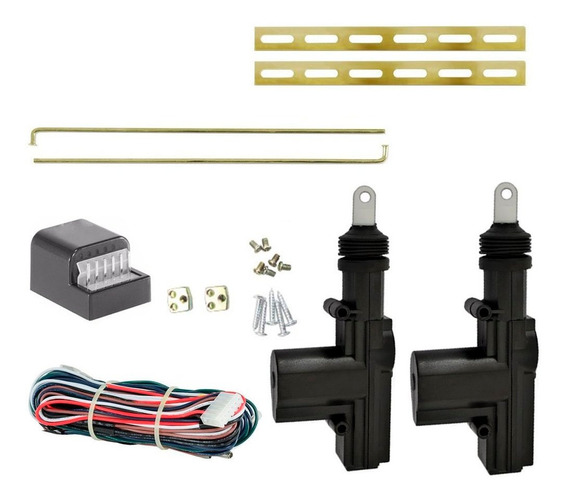 Kit Trava Elétrica Gol 91 Quadrado 2 Portas Universal 5 Fios
