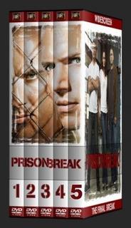 Box Prison Break 1ª Á 5ª Temporada Dublado - Box 26 Discos