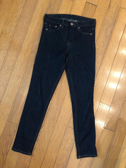 Jean Azul Oscuro Skinny H&m . Impecable