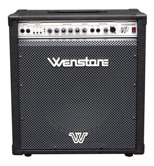 Amplificador Wenstone BE-1200 120W negro 220V