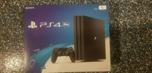 Nuevo Playstation 4 1tb Con 5 Juegos Gratis