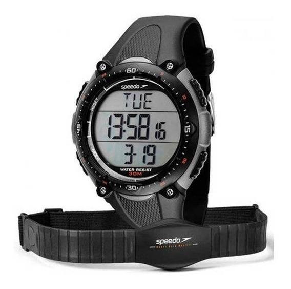 Relógio Speedo Masc Monitor Cardiaco Com Cinta 80565goepnp2
