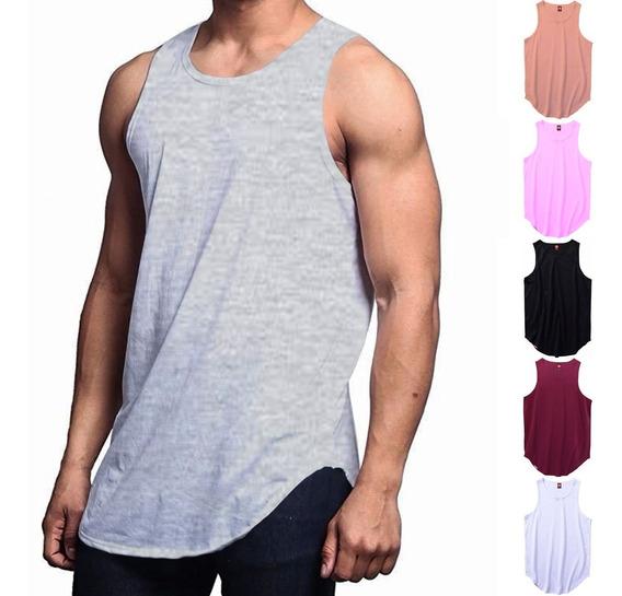 Camiseta Regata Masculina C80 - Regata Longline Vcstilo