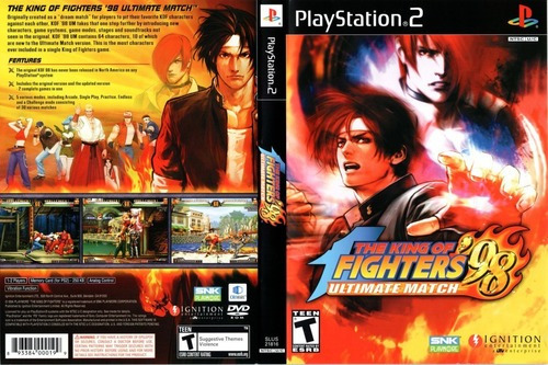 The King Of Figthers 98 Ultimate Match Playstation 2