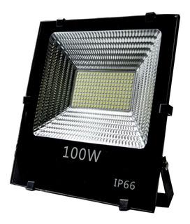 Reflector Led 100w Exterior Ideal Canchas Futbol Padel Ip66.