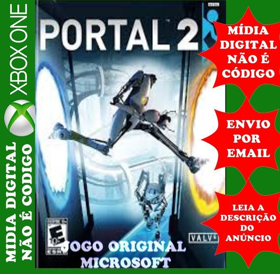 Portal 2 Xbox One Mídia Digital Roraima Games