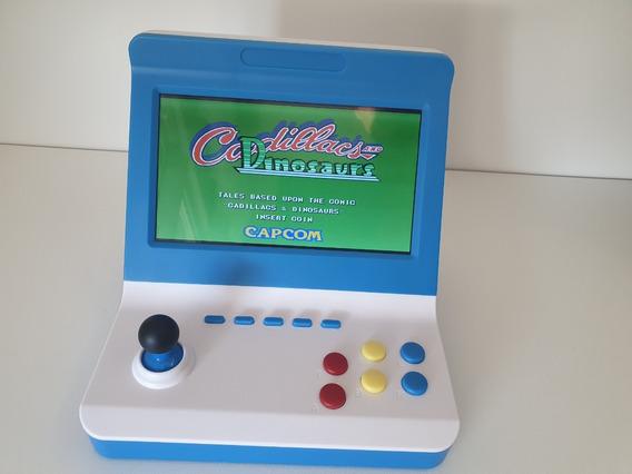 Video Game Retrô Arcade Ragebee 7 Polegadas