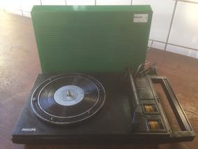 Vitrola Philips 100 - Funcionando