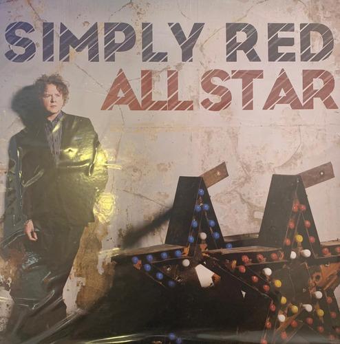 Vinilo Simply Red All Star Nuevo Y Sellado
