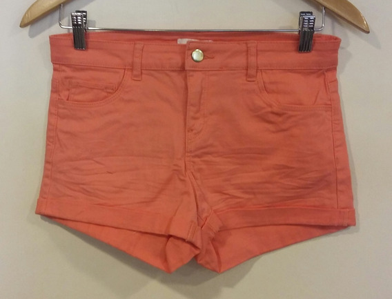 Short Coral Claro H&m Talle 34