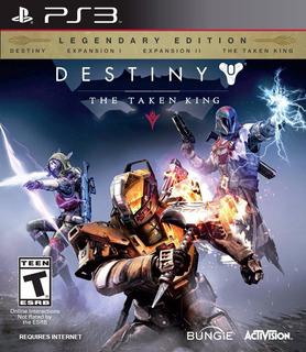 Destiny Ps3 The Taken King (todos Los Dlc)   Digital Esp!